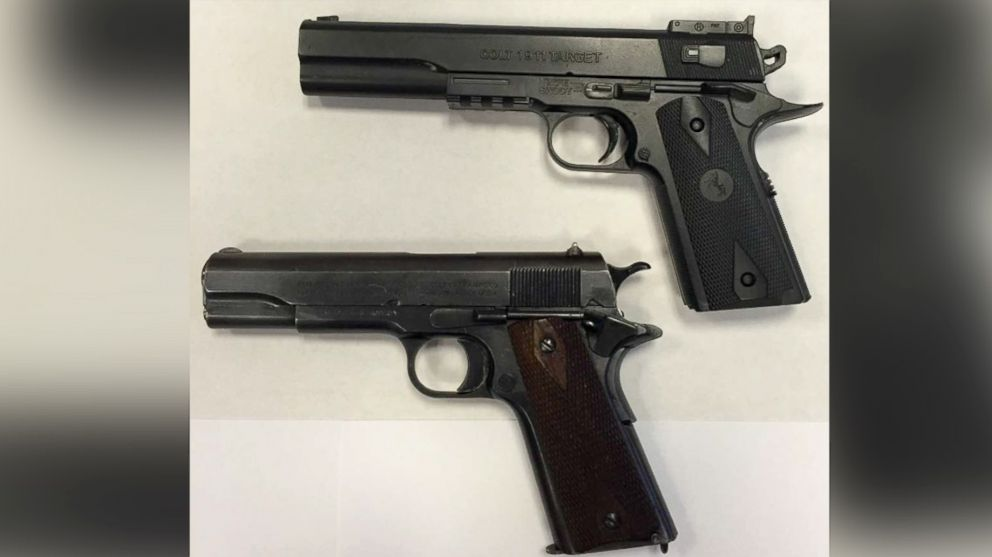 One Of These Is The Toy Gun Tamir Rice Was Holding