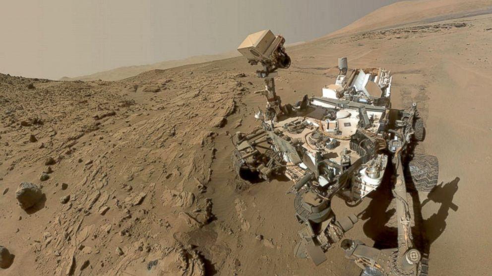 NASA Curiosity Rover Celebrates First Martian Year - ABC News