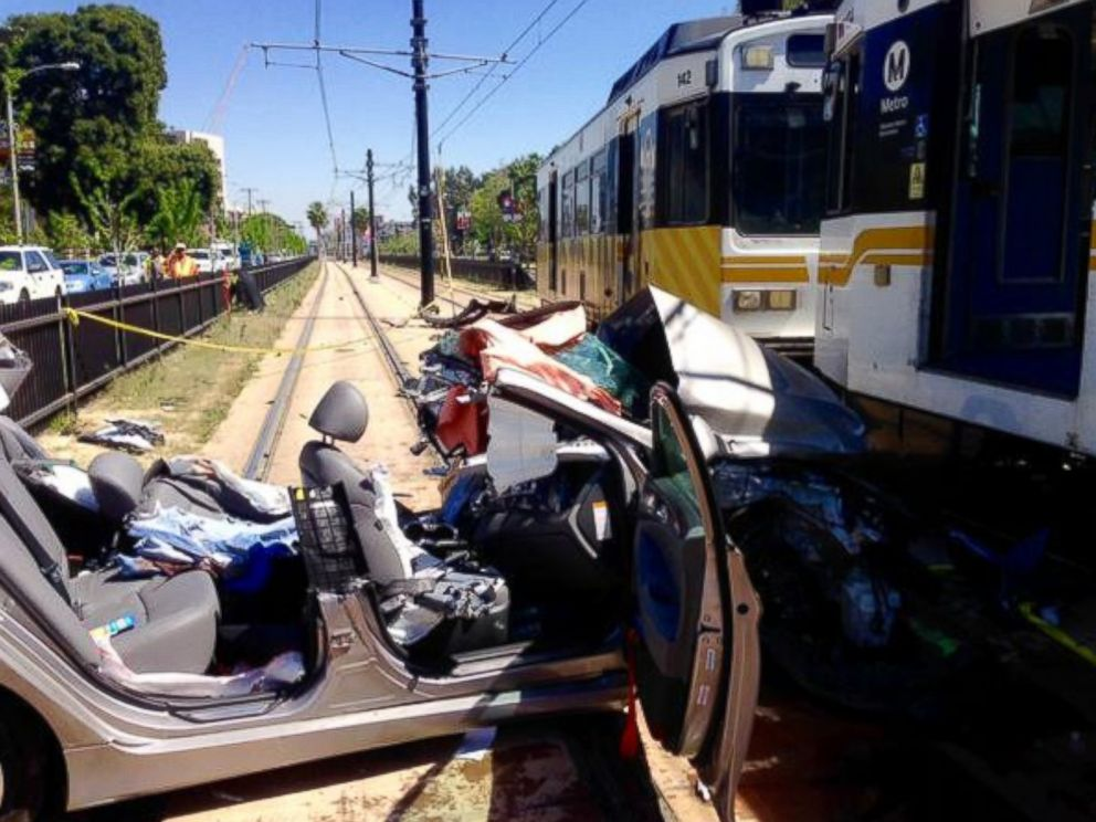 Car Crash Los Angeles: 21 Injured When Metro Rail Train Collides With Car In Los