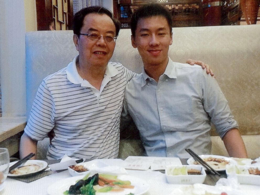 PHOTO: Chun Michael Deng, right, is the Baruch College student who died during a 2013 hazing incident. Pennsylvania authorities recently brought charges against dozens of members of Pi Delta Psi Fraternity.