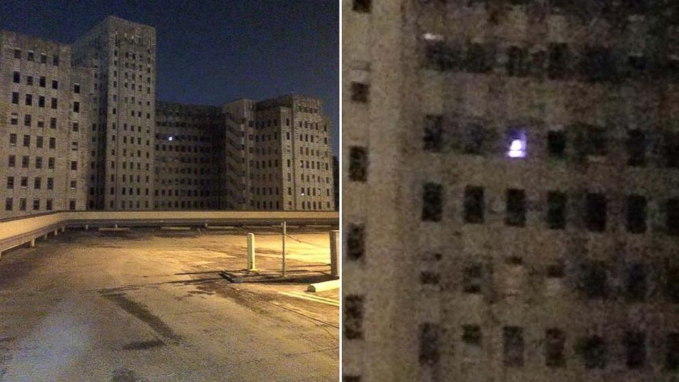 Mystery Of Creepy Light Spotted In Window Of Abandoned