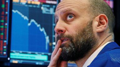 Dow plunges more than 1,100, largest single-day point drop in history