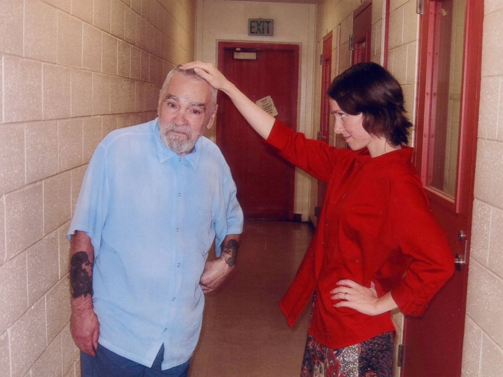 PHOTO:Charles Manson is seen with Star, July 6, 2013.