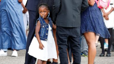 Little Girl in Car When Philando Castile Was Shot Attends His Funeral