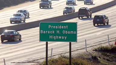 Los Angeles-area freeway named for Barack Obama