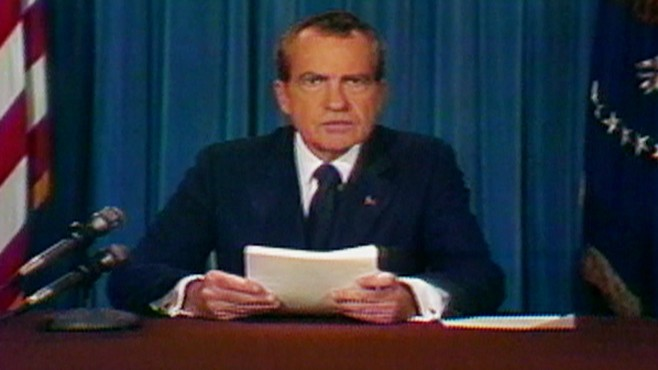 Aug 8 1974 President Nixon Resigns Video Abc News