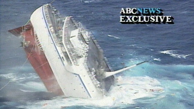 Aug 4 1991 Cruise Ship Sinks Video Abc News