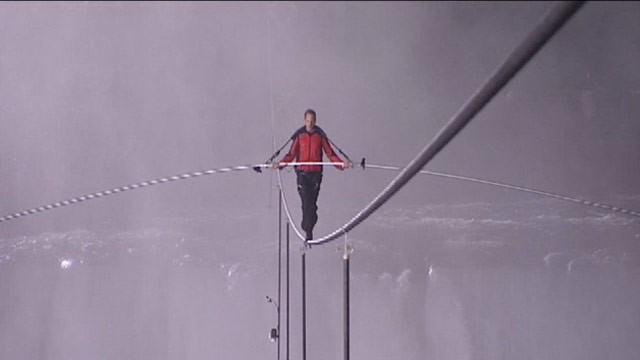 High wire walk niagara falls live webcam