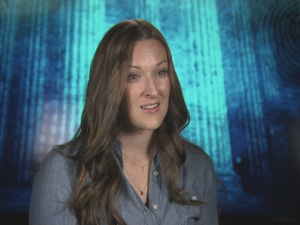 Lindsay Menz is seen here during an interview with Nightline.