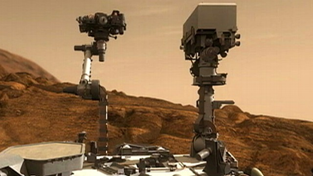 mars rover landing interview - photo #17