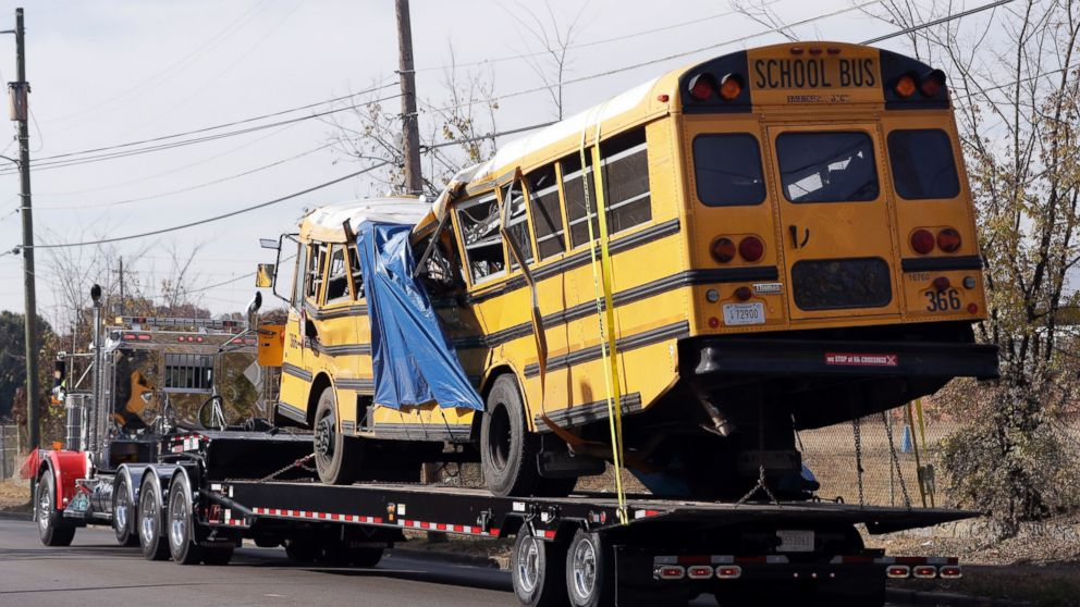 Chattanooga School Bus Driver In Fatal Crash Involved In