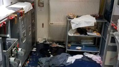 Delta flight attendant smashes wine bottle over disruptive passenger's head
