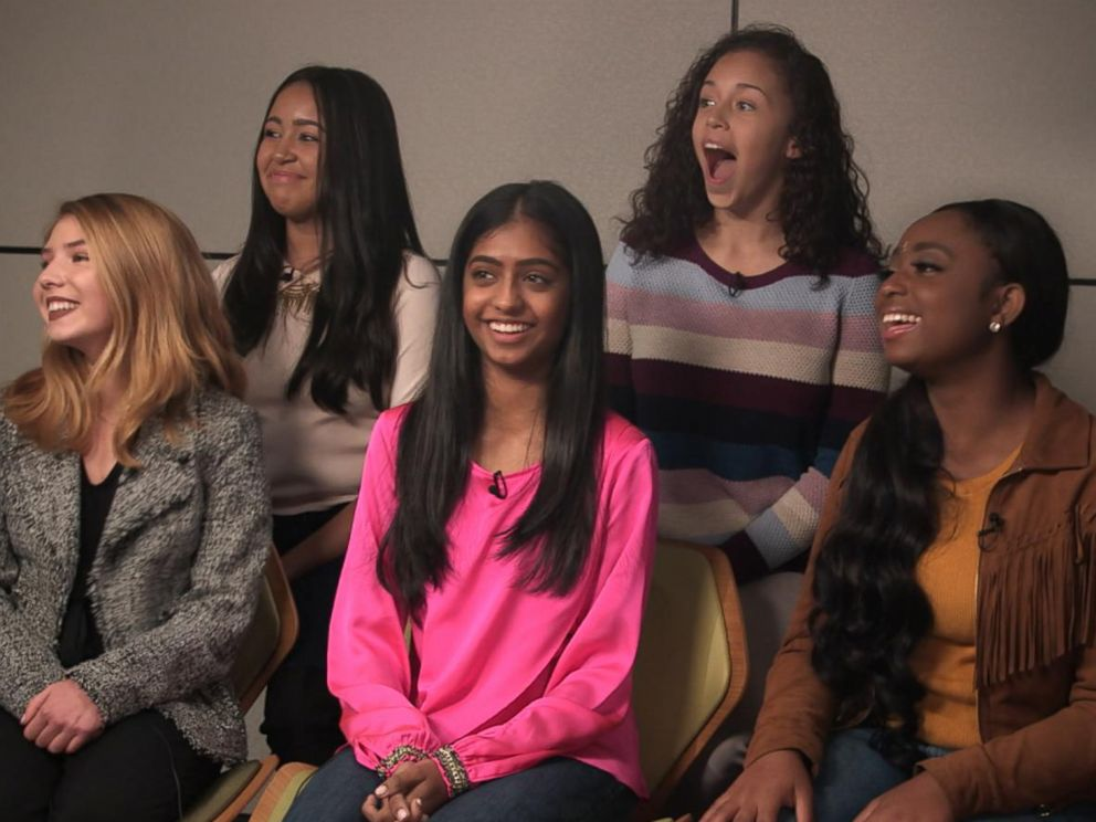 PHOTO: A group of teenage girls spoke candidly about the struggles they faced, especially on social media, while their mothers listened in during a GMA social experiment.