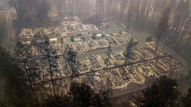 Crane operator fired for taking insensitive photos on properties destroyed by the Camp Fire