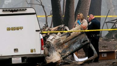 California wildfires death toll climbs to 84, with more than 800 still unaccounted for