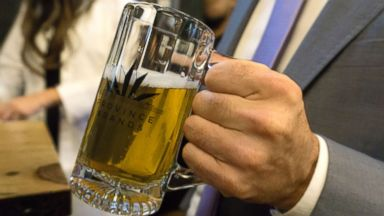 Toronto-based company brews its first beers from cannabis