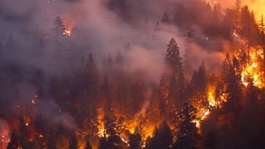 'Undeniable link to climate change' in California's fire season, expert says