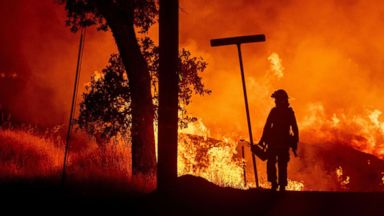 California fire forces on-air evacuation of TV anchor: 'I've never seen anything like it'