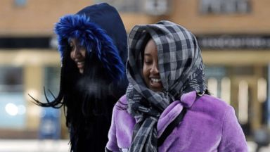 Brutal Arctic blast overtakes eastern US with wind chill falling to -30 degrees in some areas