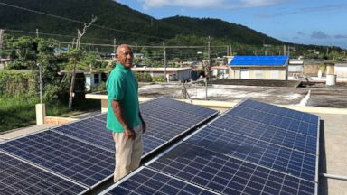 How being prepared for hurricane season starts with solar power in one Puerto Rico town