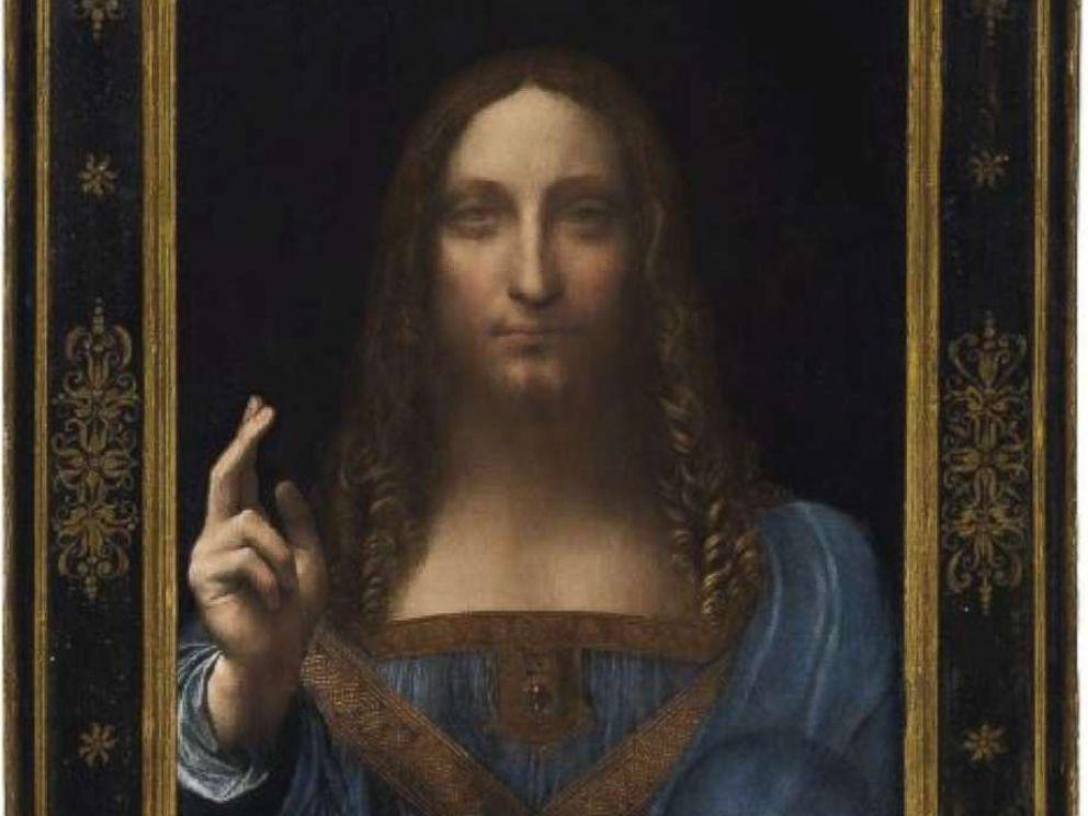 PHOTO: Leonardo da Vinci's Salvator Mundi painting.