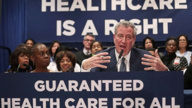 New York City mayor proposes law giving all workers 2 weeks of paid time off