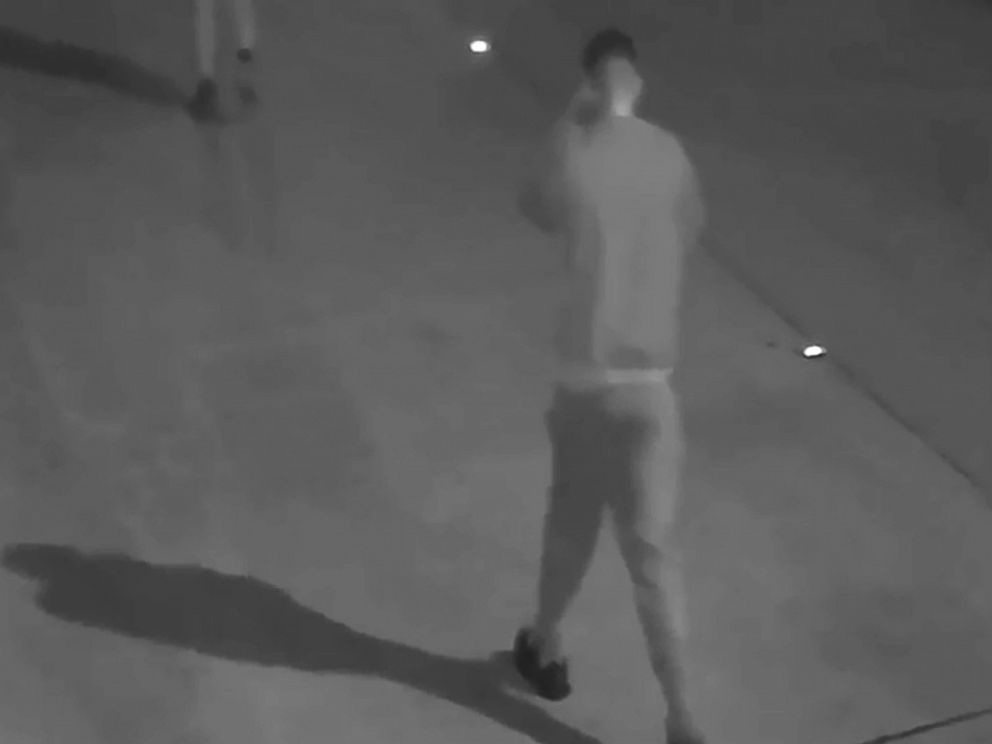 PHOTO: The Harris County Sheriff's Office in Texas released surveillance video of persons of interest in the double murder of a husband and wife on Jan. 11, 2018.