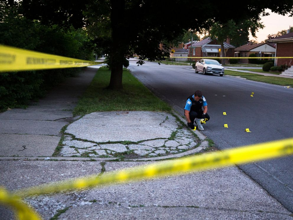 762 Homicides Mark Chicago's 'Out of Control' Violence