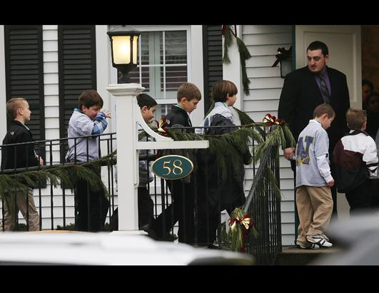 Photos: Conn. Community in Sorrow After School Shooting