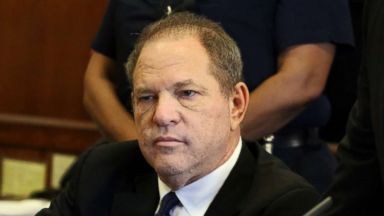 Video: Harvey Weinstein caresses woman during meeting hours before she says he raped her