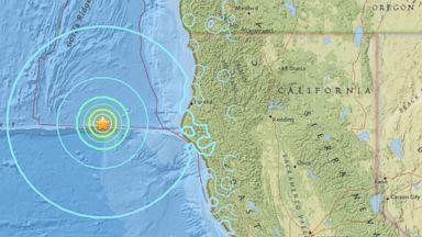 6.5 Magnitude Earthquake Recorded off the Coast of California