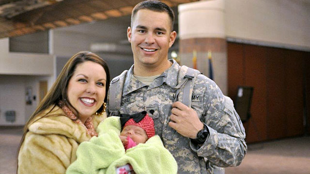 us army meet family