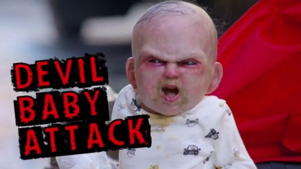 Watch A Devil Baby Terrify New Yorkers In Prank Video