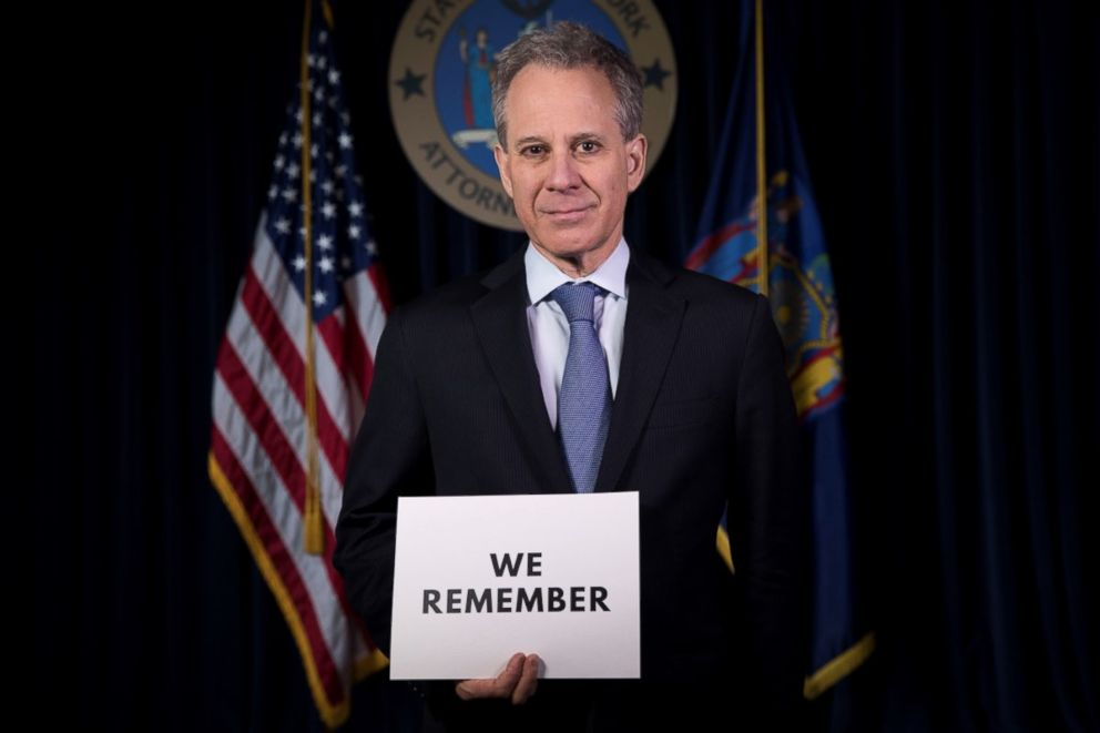 PHOTO: New York State Attorney General Eric T. Schneiderman