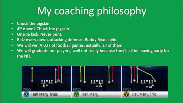 Scrappy Coach Wannabe Cites Love of Game in UND Football ...