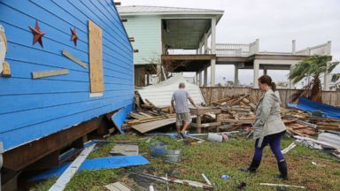 Rockport, Texas, homeowners return to debris, devastation