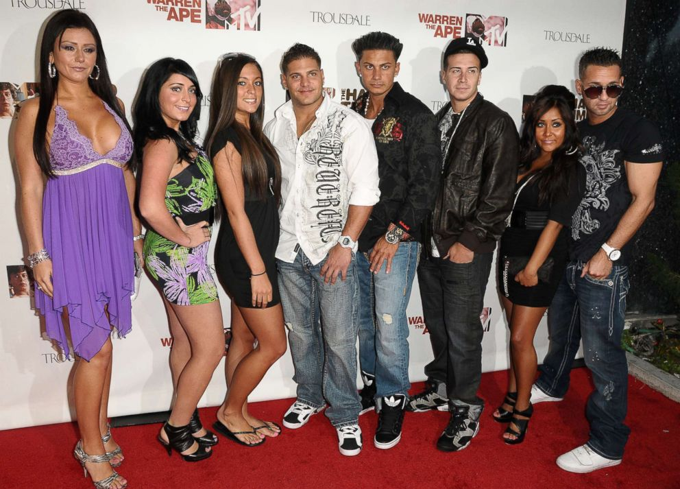 PHOTO: Jersey Shore cast members on June 7, 2010 in West Hollywood, Calif.