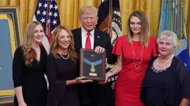Trump awards Medal of Honor to airman who saved teammates from al-Qaeda attack despite being gravely wounded