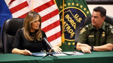 Melania Trump visits Arizona where immigration could shape key race