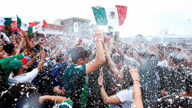 Mexican World Cup fans' 'massive jumps' may have set off manmade earthquake