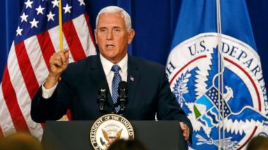 'We will never abolish ICE': Pence says to staff at ICE HQ