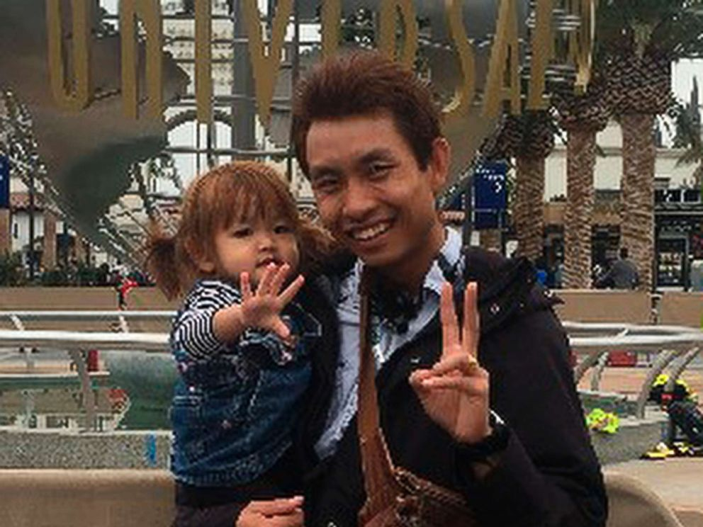 PHOTO: This undated photo provided by the Santa Barbara County Sheriff's Office on January 13, 2018 shows Pinit Sutthithepa with one of his children.