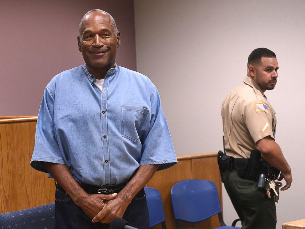 OJ Simpson granted parole for Las Vegas robbery