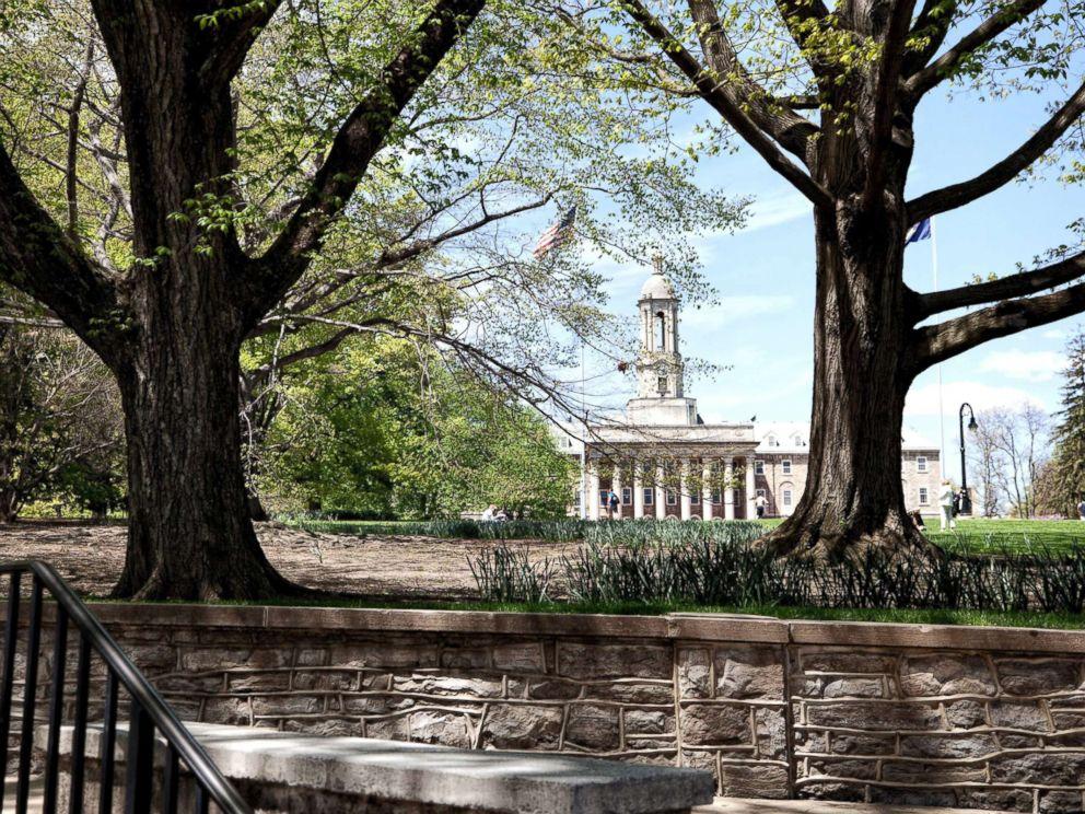 PHOTO: Old Main at Pennsylvania State University, May 4, 2013.