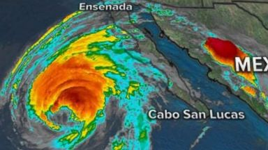 Tropical Storm Rosa's remnants likely to bring widespread heavy rain, flash flooding to southwest US