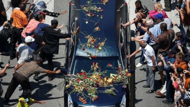 Farewell to 'The Greatest': Thousands Celebrate Muhammad Ali's Life