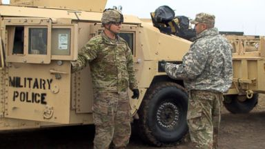 At Base Camp Donna, US Army troops spend Veterans Day preparing for migrants