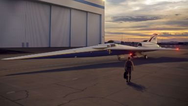 NASA partnering with Lockheed Martin to build quiet supersonic plane