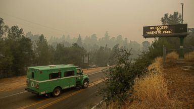 California firefighters struggle to contain deadly, rapidly growing wildfire