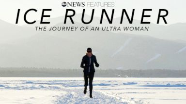 'Ice Runner': Running across the world's deepest lake